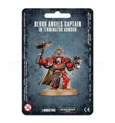 [Blood Angels] Blood Angels Captain In Terminator Armour