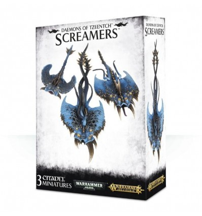 [Chaos Daemons] Screamers of Tzeentch