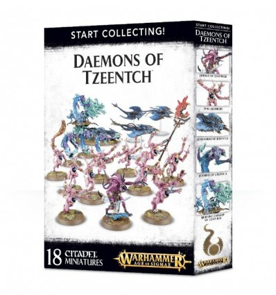 [Daemons of Tzeentch] Start Collecting