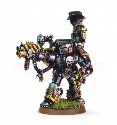 [Space Marines du Chaos] Maître de Forge Iron Warrior