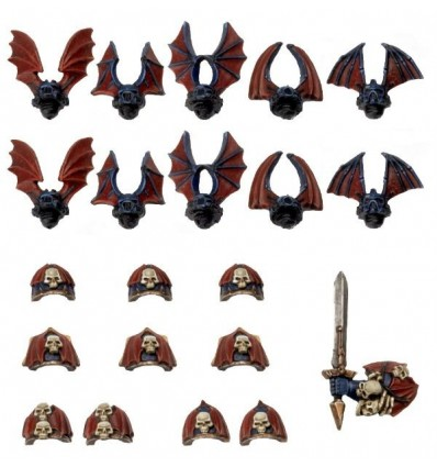 [Space Marines du Chaos] Pack de Conversion Night Lords