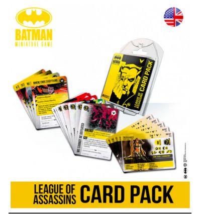 Batman - Le Jeu de Figurines - League of Assassins Card Pack