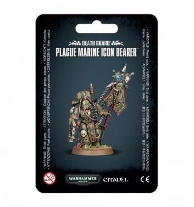 [Death Guard] Plague Marine Icon Bearer