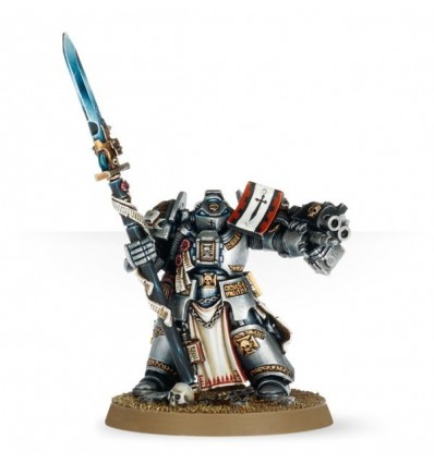 [Grey Knights] Frère-capitaine Chevalier Gris