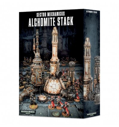 [Armageddon] Sector Mechanicus: Alchomite Stack