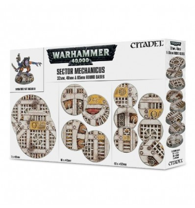 [Warhammer 40000] Socles industriels Sector Mechanicus