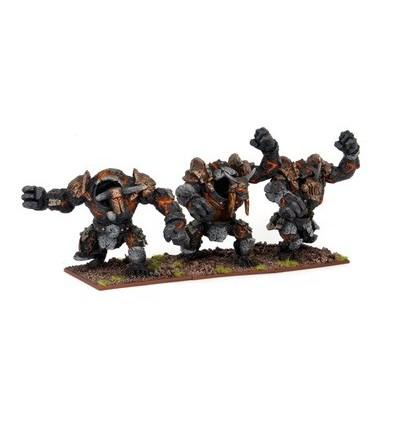 [Abyssal Dwarf] Golems mineurs d'obsidienne (MGKWK23-1)