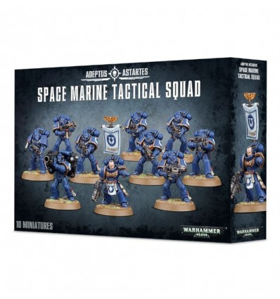 [Space Marines] Space Marine Tactical Squad