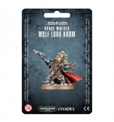 Space Wolves Wolf Lord Krom Dans L Antre Du Blup