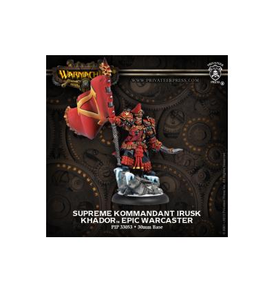 [Khador] Supreme Kommandant Irusk (33053)