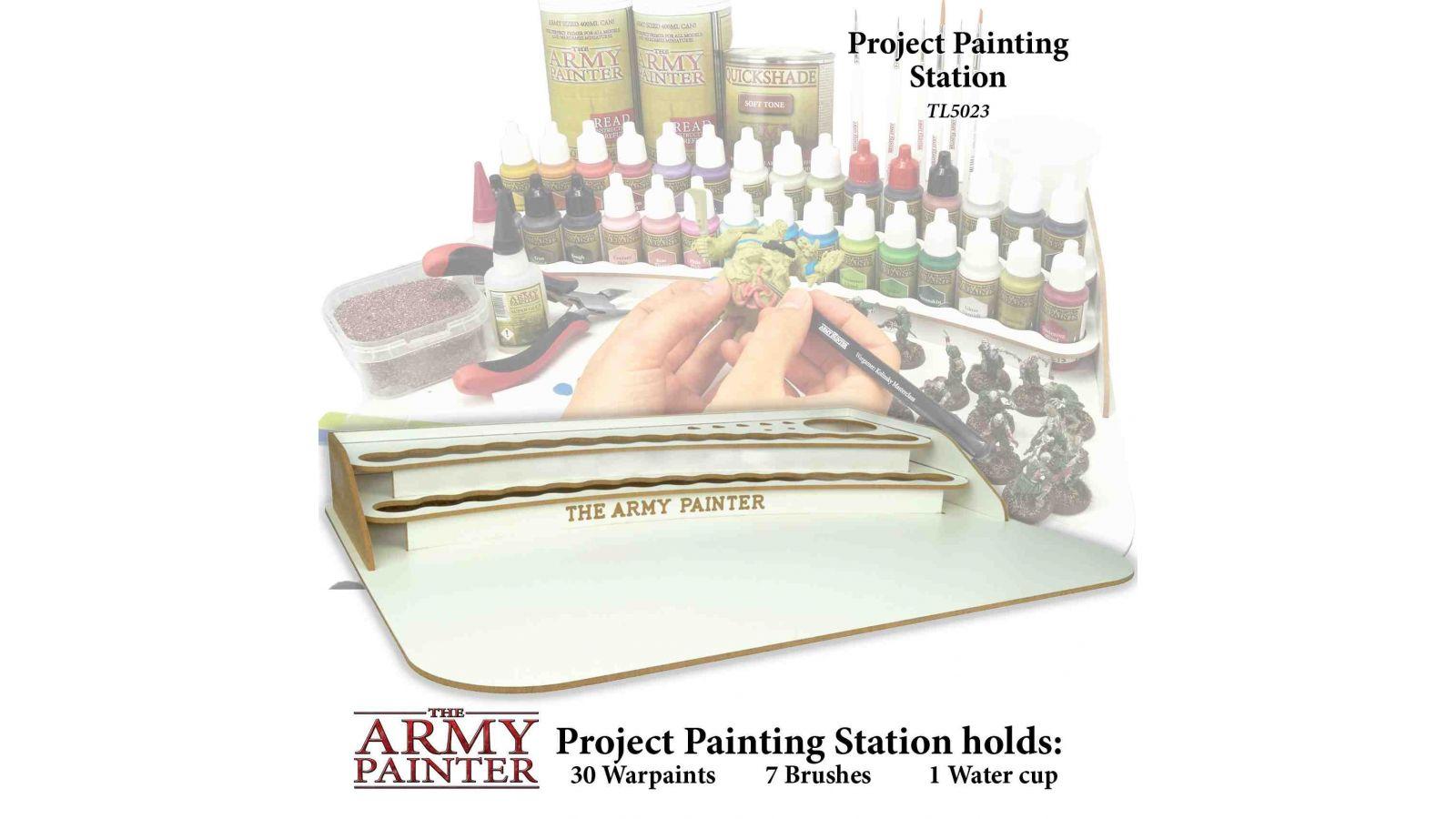 Army Painter Project Painting Station Dans L Antre Du Blup