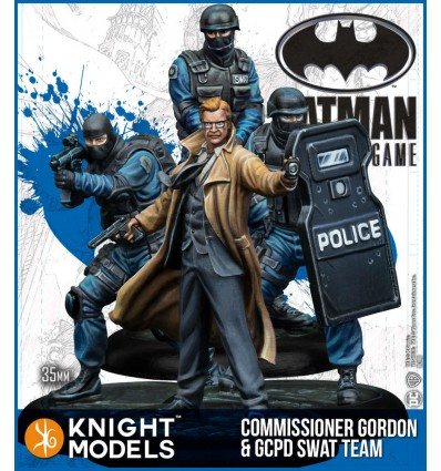 Commissionnar Gordon & GCPD Swat Team