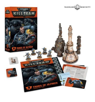 [Kill Team] Les Crocs de Ulfrich – Kill Team Space Wolves