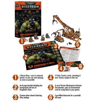 [Kill Team] Les Boyz de Krogskull – Kill Team Orks