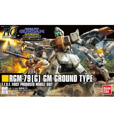 Gundam HG 1/144 GM Ground Type