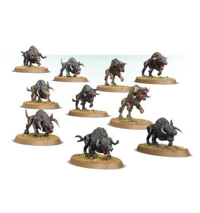 [Beast of Chaos] Warhounds of Chaos