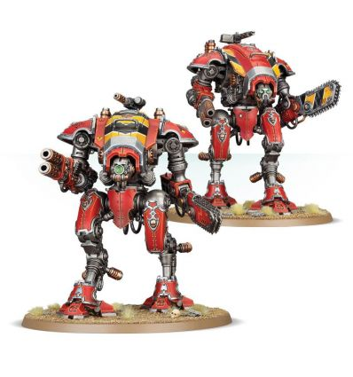 [Imperial Knights] Armiger Warglaives