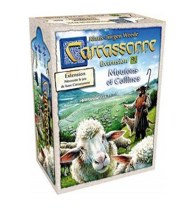 Carcassonne - Ext. 9 Moutons et Collines