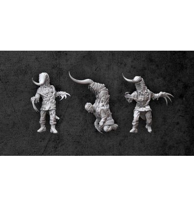 [Achtung! Cthulhu Miniatures] Servitors of Nyarlathotep