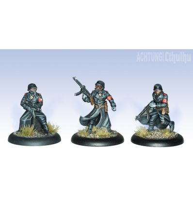 [Achtung! Cthulhu Miniatures] Black Sun Troopers