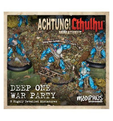 [Achtung! Cthulhu Miniatures] Deep Ones War Party unit pack