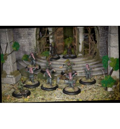 [Achtung! Cthulhu Miniatures] Servitors of Nyarlathotep unit pack