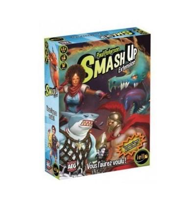 Smash up Extension : Vous l'aurez voulu !