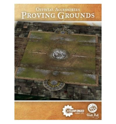 Guild Ball Play Mat : Proving Grounds Multiples of 4 only