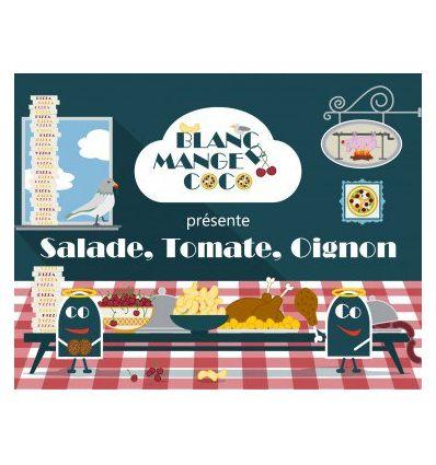 Blanc Manger Coco : Salade, Tomate, Oignon