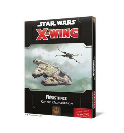 [Star Wars X-Wing 2.0] Kit de Conversion Résistance