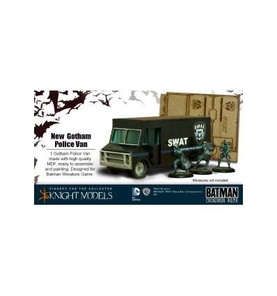 Gotham Police Van (Scenery)