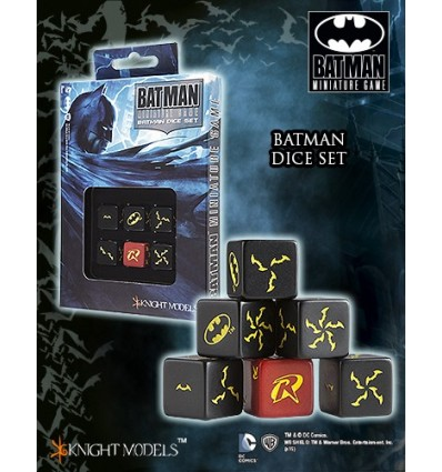 [Batman MG] Batman Dice Set (ACC0031)