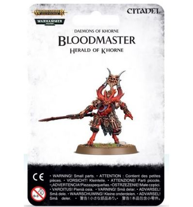 [Blades Of Khorne] Bloodmaster, Herald of Khorne