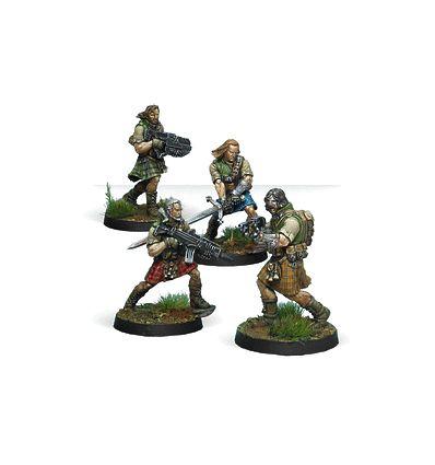 [Infinity] 45th Highlander Rifles (0572)