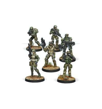 [Infinity] US Ariadna Ranger Force [Ariadna Sectorial Starter Pack]