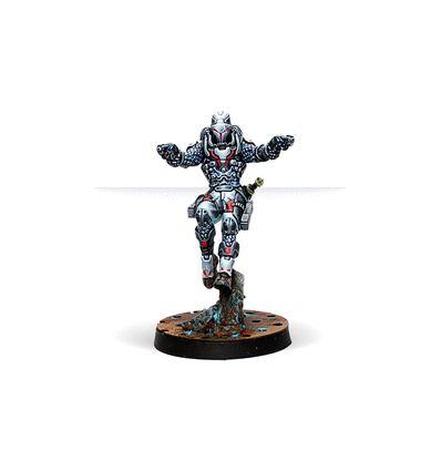 [Infinity] Perseus, Rogue Myrmidon (Two Pistols)