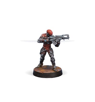 [Infinity] Intruder, Corregidor Assault Commando (HMG)