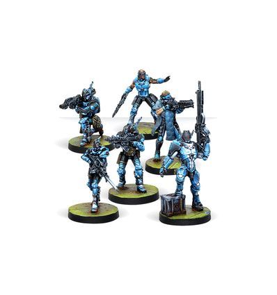 [Infinity] Varuna Immediate Reaction Division (Panoceania Sectorial Starter Pack)