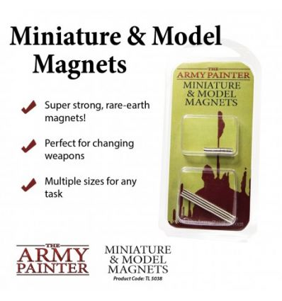 [Army Painter] Miniature & Models Magnets